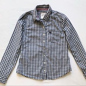 Abercrombie kids plaid shirt